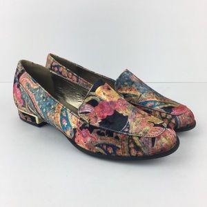 Colorful velvet Bellini Loafers